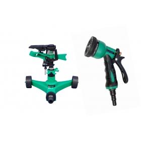 Ketsy 806 Gardening Water Spray Gun 8 Way Nozzle Heavy Duty