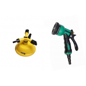 Ketsy 807 Gardening Water Spray Gun 8 Way Nozzle Heavy Duty