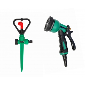 Ketsy 808 Gardening Water Spray Gun 8 Way Nozzle Heavy Duty
