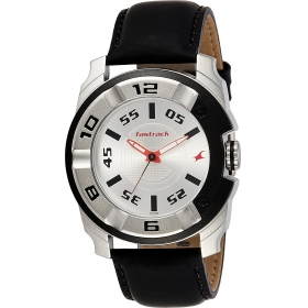 Fastrack Analog Silver Dial Men's Watch-3150kl01