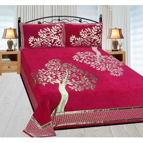 Reliable Trends Premium Chenille Velvet Bedsheet
