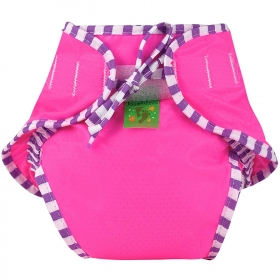 Swim Diaper, Pink Solid, X-large