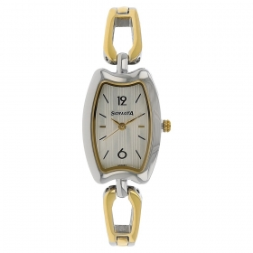 Sonata Silver Dial Stainless Steel Strap Watch (8116bm04)
