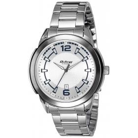 Titan Analog Silver Dial Men's Watch - 1585sm06