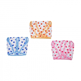 Cozycare Large Hosiery Nappy Printed Pack Of 3