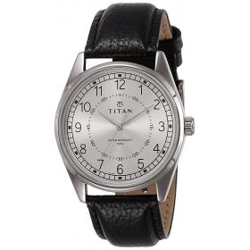 Titan Neo Analog Silver Dial Men's Watch-1729sl01