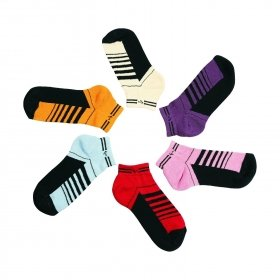 Footmate Women Half Terry Anklet Socks (6 Pair Pack)