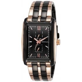 Titan Regalia Rome Chronograph Black Dial Men's Watch-1724km02