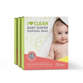 Baby Diapers & Napkin Disposal Bags (45)