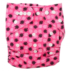 All-in-one Bottom-bumpers Cloth Diaper (pink Dot)