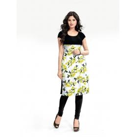 Exclusive Yellow Designer Kurti