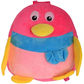 Penguin Velvet Baby Bag