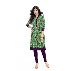 Exclusive Designer Green Kurti