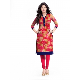 Exclusive Designer Red Kurti
