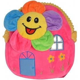 Flower Velvet Baby Bag