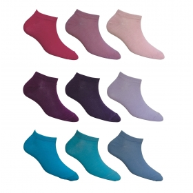 Footmate Women Ankle Socks (9 Pair Pack)