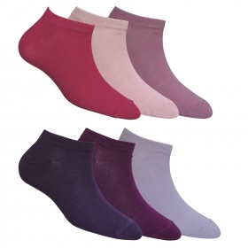 Footmate Women Ankle Socks (6 Pair Pack)