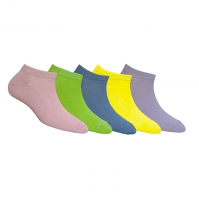 Footmate Women Ankle Socks (5 Pair Pack)
