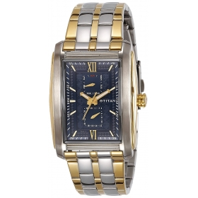 Titan Regalia Rome Analog Blue Dial Men's Watch-1724bm01