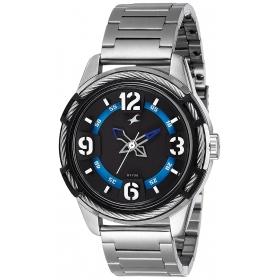Fastrack Analog Black Dial Men's Watch - 3157km01