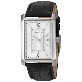 Titan Neo White Dial Analog Watch For Men-1697sl01