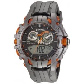 Sonata Ocean Series Digital Watch For Men-77045pp03j
