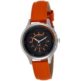 Fastrack Analog Black Dial Women's Watch-6138sl01