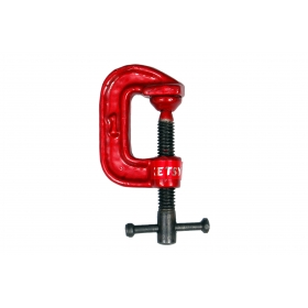 Ketsy 841 G Clamp 1 Inch Red Color