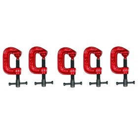 Ketsy 847 G Clamp 1 Inch Set Of 5