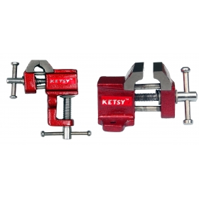 Ketsy 849 Baby Vice Set Of 2 Pcs.(25mm With Clamp, 25mm Without Clamp)
