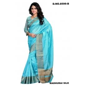 Design No. 8599b Elegant Saree