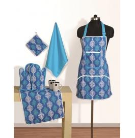 Swayam Mozart Kitchen Linen Set (8 Pcs)