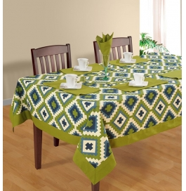 Swayam Printed Cotton Table Sheet