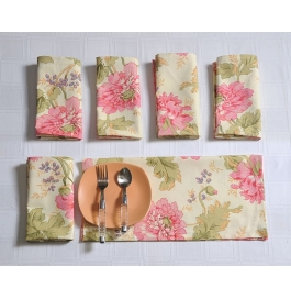 Printed Napkins Set Sn1