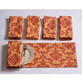 Printed Napkins Set Sn2