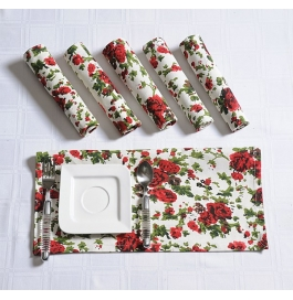 Printed Napkins Set Sn3