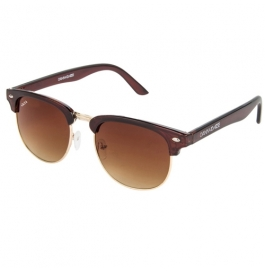 Sunglasses Aviator brown Goggles With leather Cover