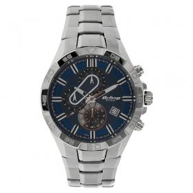 Titan Octane Blue Dial Chronograph Watch For Men (90079sm01e)