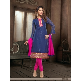 Fancy Jaquard Office / Daily Wear Unstitched Dress Materials &8211; 9015
