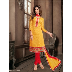 Fancy Jaquard Office / Daily Wear Unstitched Dress Materials &8211; 9016