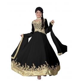 Black Color Designer Long Length Anarkali