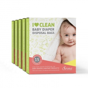 Baby Diapers & Napkin Disposal Bags (75)