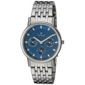 Titan Analog Blue Dial Women's Watch - 2557sm03