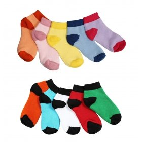 Footmate Toddler Unisex Terry Socks (10 Pair Pack)