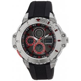 Sonata Analog Black Dial Watch For Men 77044pp01