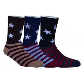 Footmate Socks Men's Fancy Socks Ml1 (pack Of 3)
