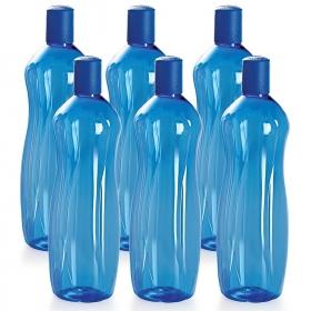 Cello Sipwell Pet Bottle Set 1 Litre Set Of 6 Blue