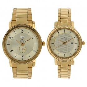 Silver Dial Stainless Steel Strap Watch (94402554ym01)