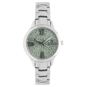 Titan Green Dial Analog Watch For Women (95027sm03j)