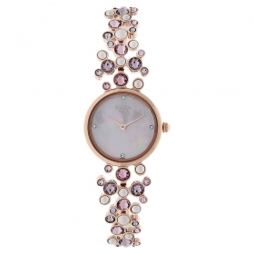 Mother Of Pearl Dial Stainless Steel Strap Watch (95032wm02j